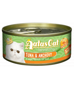 Aatas Cat Tantalizing Tuna & Anchovy in Aspic 80g