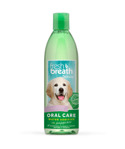 TropiClean Fresh Breath Oral Care Water Additive for Puppy