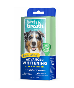 TropiClean Advanced Whitening Gel - With 3D Micro Guard for Dogs