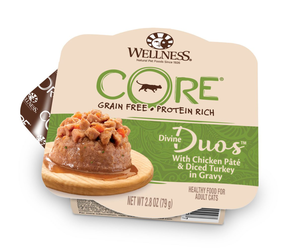 Well Divine Duos with Chicken Pâté & Diced Turkey for Cat 2.8oz