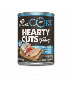 Wellness Core Hearty Cuts for Dog – Whitefish & Salmon 12.5oz