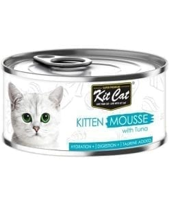 Kit Cat Kitten Mousse With Tuna Toppers 80g