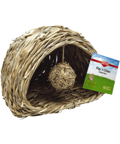 Kaytee Natural Play-N-Chew Nest Large