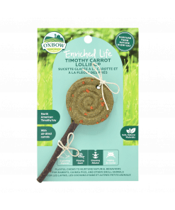 Oxbow Enriched Life - Carrot Lollipop Treats & Toy for Small Animals