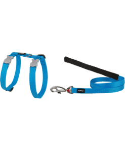 Red Dingo Cat Combo Classic - Harness & Lead - Turquoise