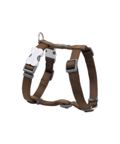 Red Dingo Classic Harness - Brown