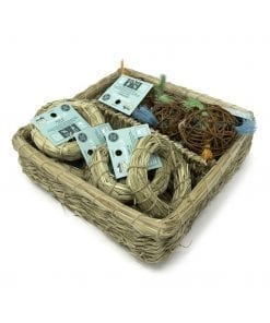 Oxbow Enriched Life - Hay-O & Loco Ball Basket for Small Animals