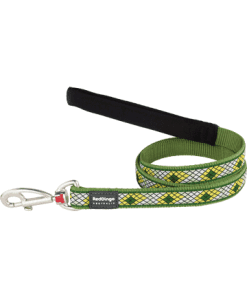 Red Dingo Fixed Monty Lead - Green