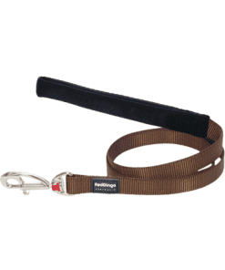 Red Dingo Fixed Classic Lead - Brown