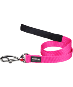 Red Dingo Fixed Classic Lead - Hot Pink