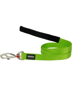 Red Dingo Fixed Classic Lead - Lime Green