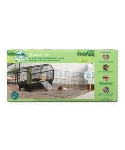 Oxbow Enriched Life - Habitat with Play Yard for Small Animals