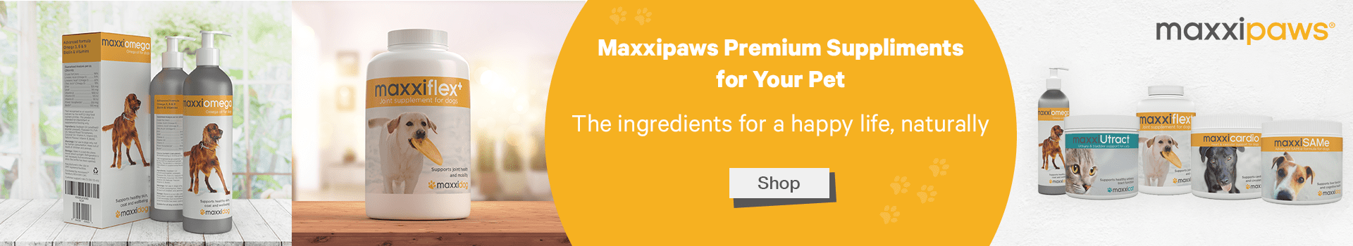 Maxxipaws Brand