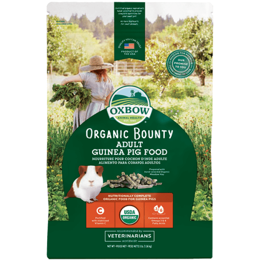 Oxbow Organic Bounty Food for Adult Guinea Pig