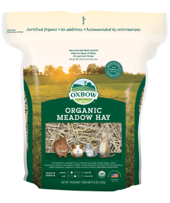 Oxbow Organic Meadow Hay for Small Animals 15oz