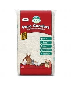 Oxbow Pure Comfort Bedding White for Small Animals