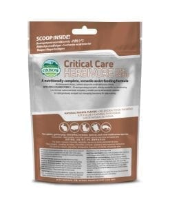 Oxbow Critical Care Fine Grind Papaya Flavor Supplements