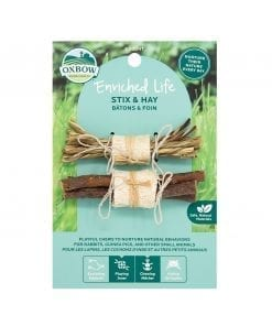 Oxbow Enriched Life - Stix & Hay Toy for Small Animals