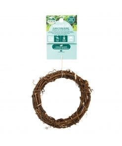 Oxbow Enriched Life - Curly Vine Ring Toy for Small Animals