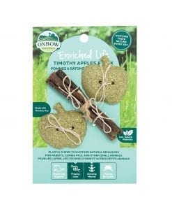 Oxbow Enriched Life - Timothy Apples & Stix Toy for Small Animals