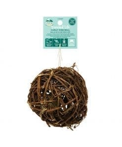 Oxbow Enriched Life - Curly Vine Ball Toy for Small Animals