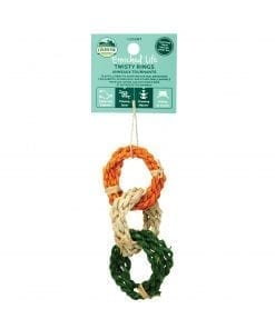 Oxbow Enriched Life - Twisty Rings Toy for Small Animals