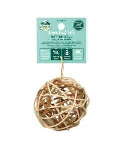Oxbow Enriched Life - Rattan Ball Toy for Small Animals
