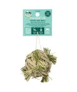 Oxbow Enriched Life - Crazy Hay Ball Toy for Small Animals