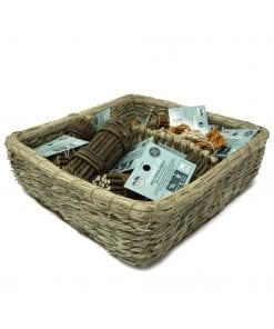 Oxbow Enriched Life - Twisty Rings & Willow Bundle Basket for Small Animals