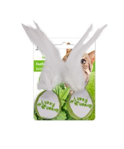 AFP Green Rush Feather Balls for Cat