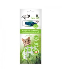 AFP Green Rush Catnip Powder Pouch with Toy