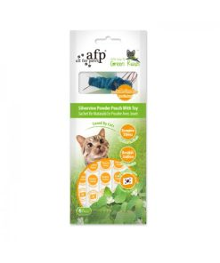 AFP Green Rush Silvervine Powder Pouch with Cat Toy
