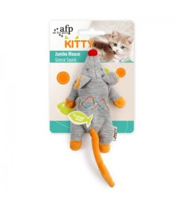 AFP Kitty Jumbo Mouse Cat Toy