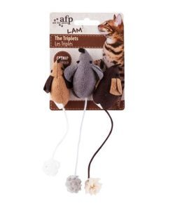 AFP Lambswool The Triplets Mouse