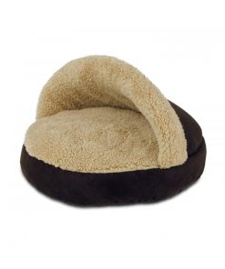AFP Lambswool Cosy Snuggle Bed Brown for Cat (2 Colors)