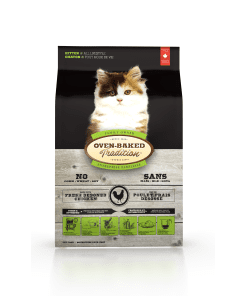 Oven-Baked Tradition Kitten Chicken Dry Cat Food